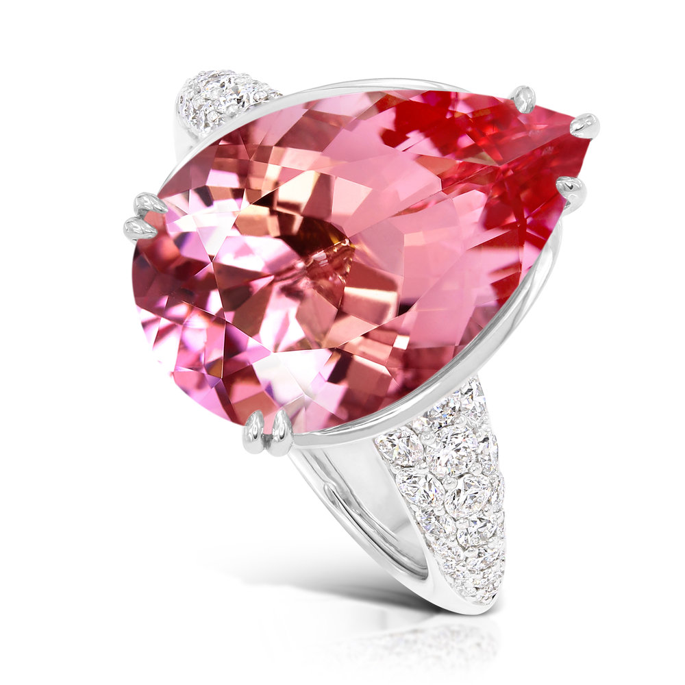 Kat Florence Morganite Ring