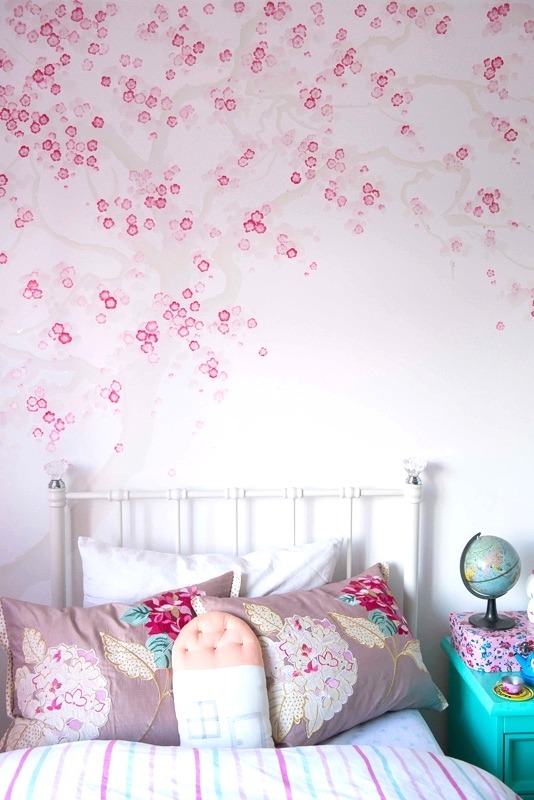 Cherry Blossom, Girls Bedroom