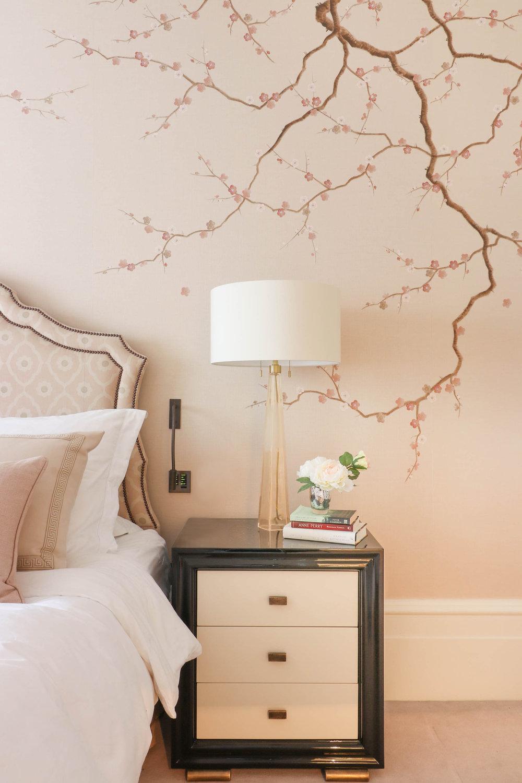 Diane Hill Cherry Blossom Mural Kensington