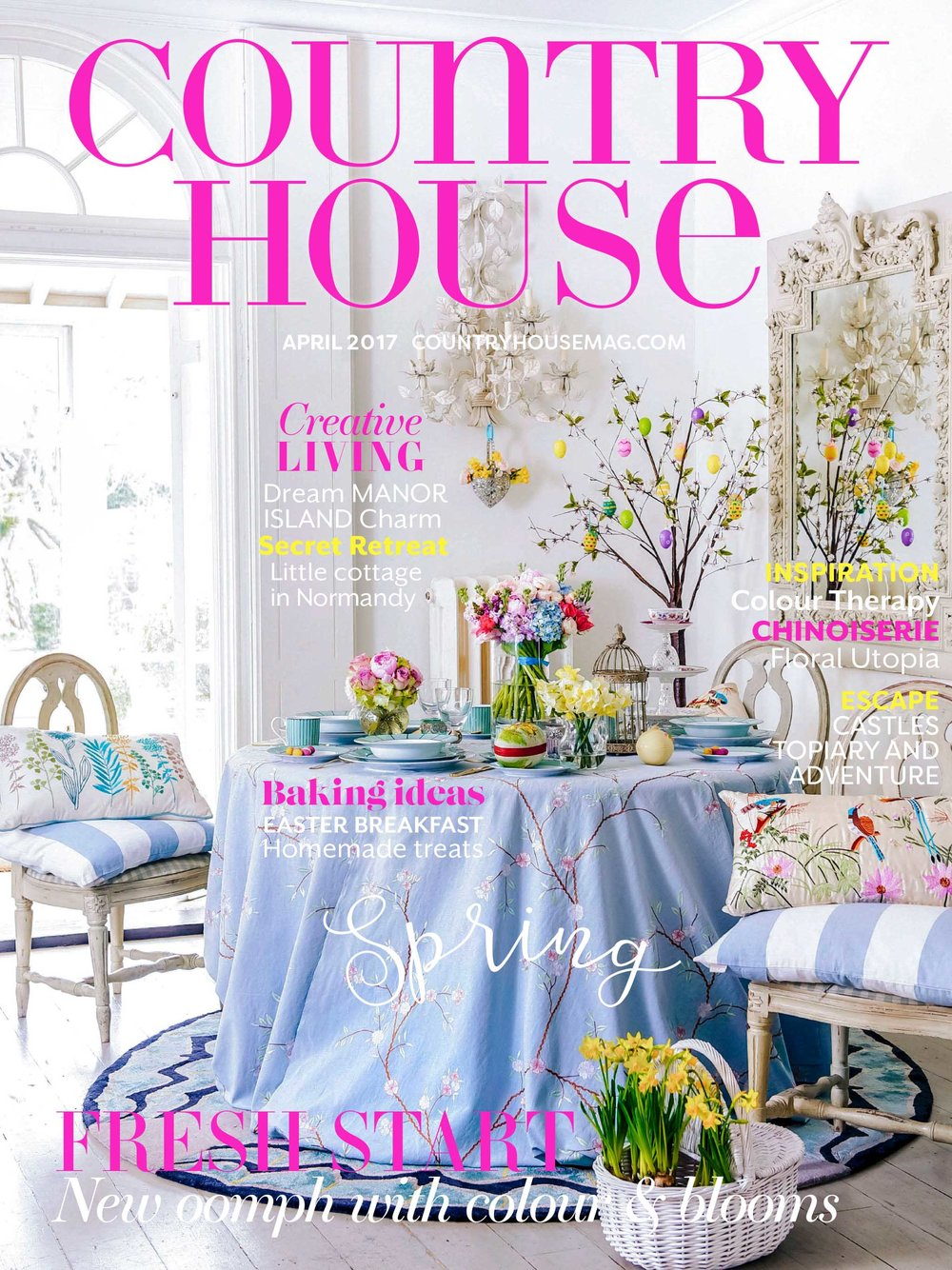 Country House magazine, April 2017
