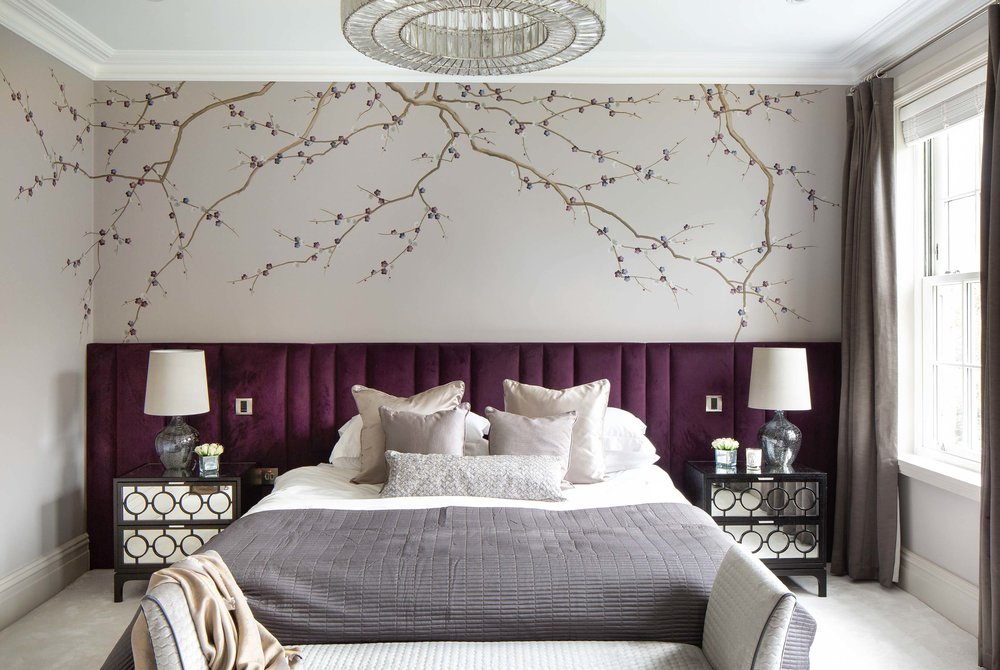 Diane Hill Design Cherry Blossom Mural