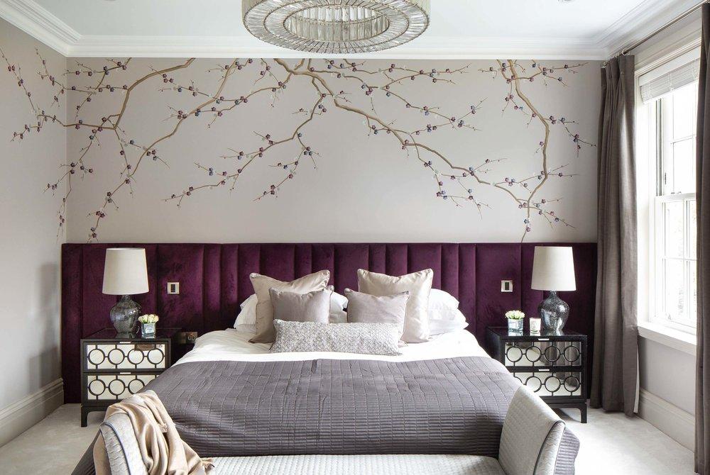 Cherry Blossom Mural, Esher