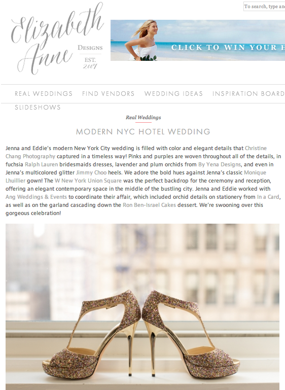elizabeth anne designs whotel wedding ang weddings and events