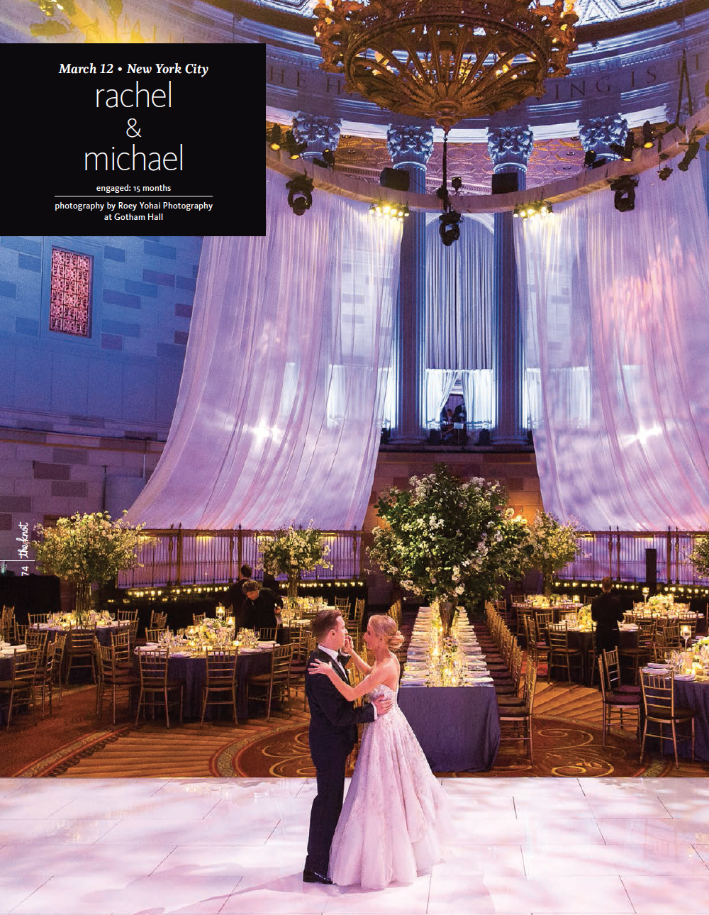 The Knot: Rachel and Michael