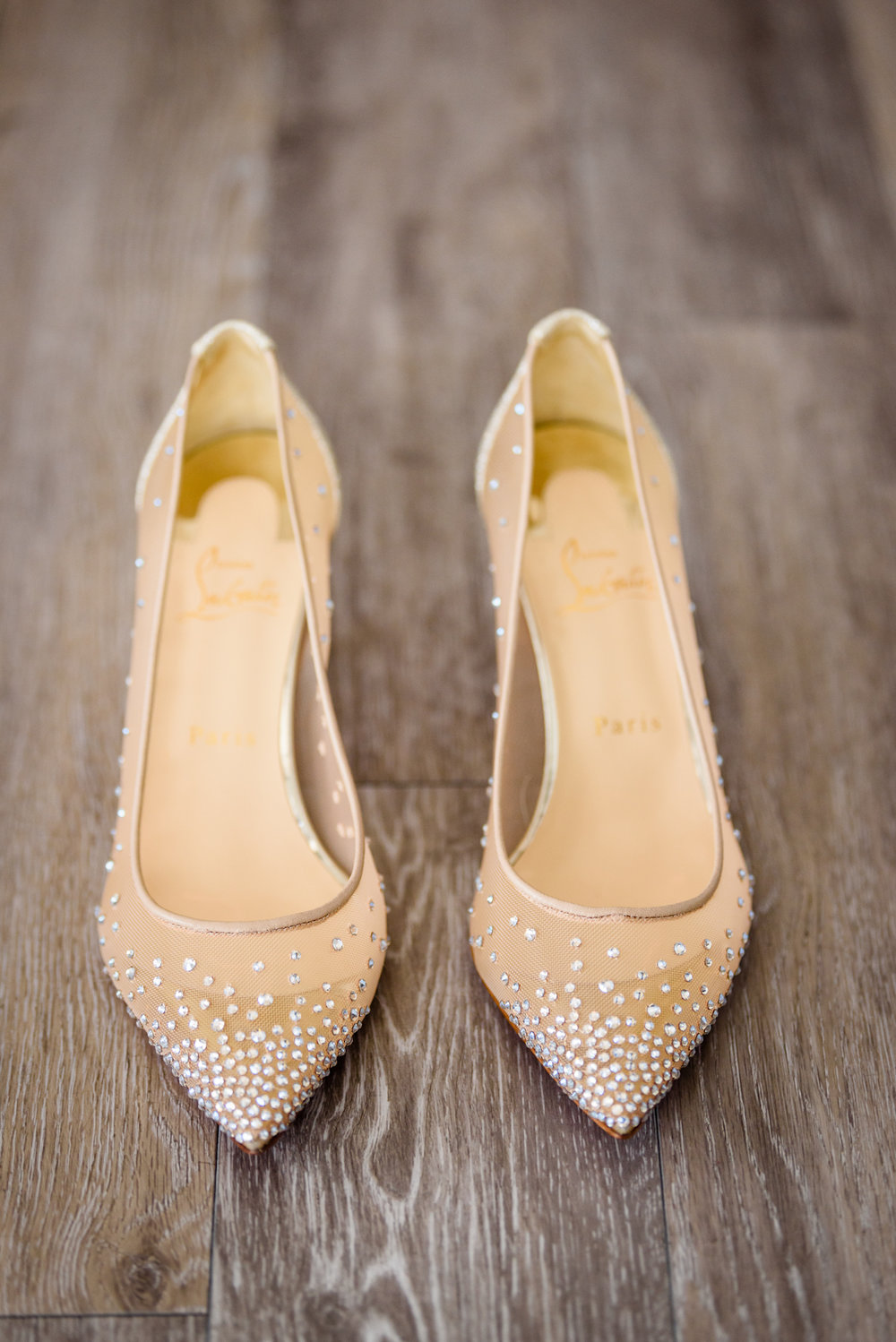Weylin Wedding: Christian Louboutin wedding shoes