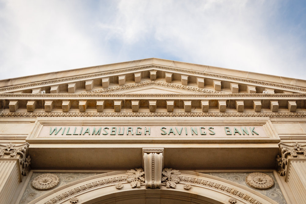 Weylin Wedding: Williamsburg Savings Bank