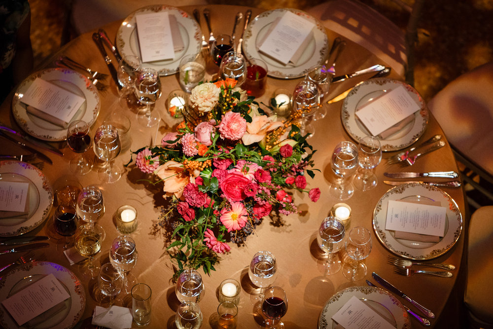 Weylin Wedding: Tablescape and florals