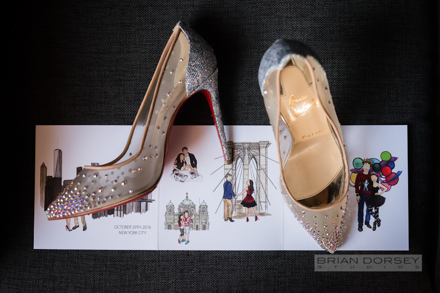 Liberty Warehouse Wedding | Wedding Planning Ang Weddings and Events | Christian Louboutin Wedding Shoes