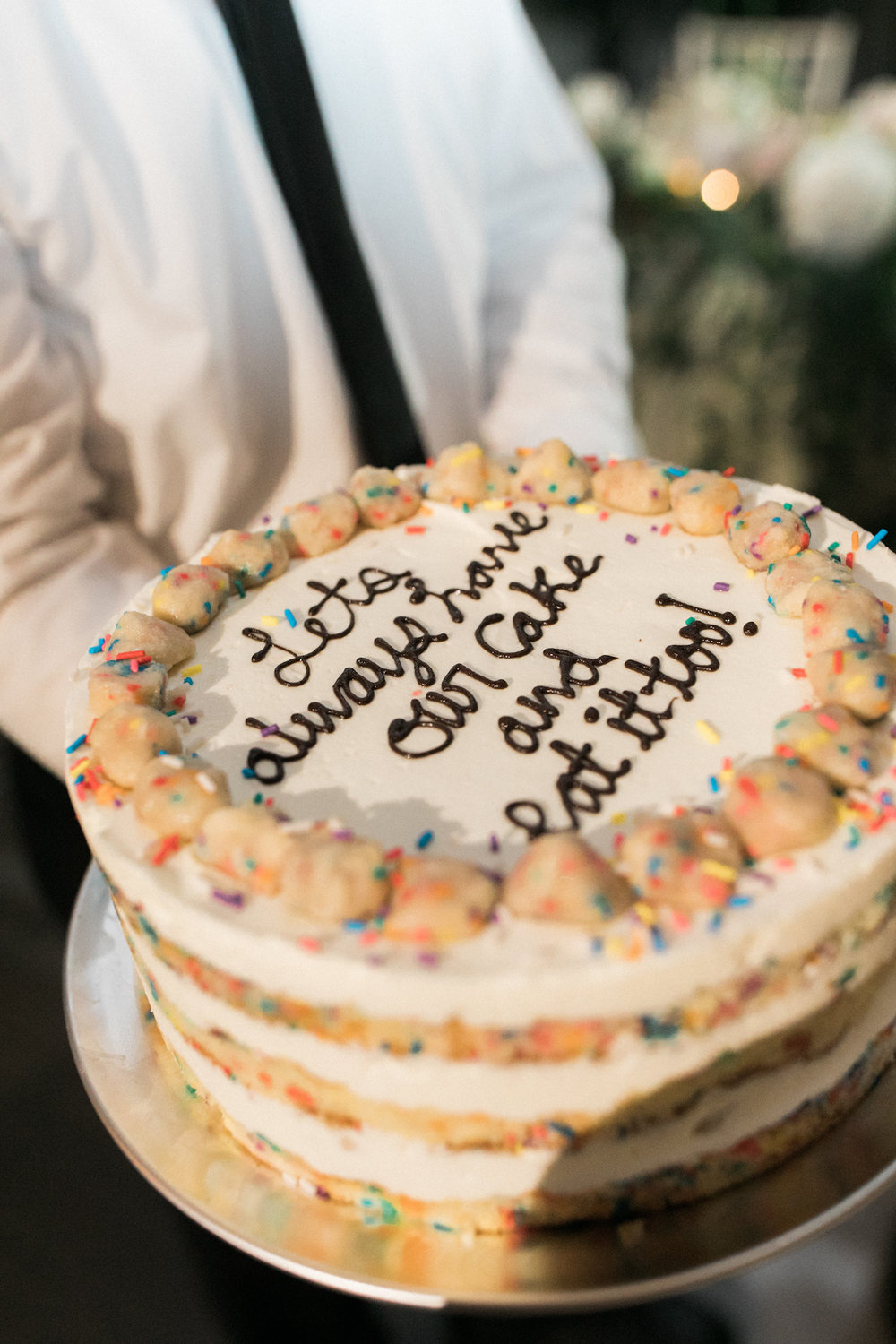 Brooklyn Botanic Gardens wedding, Judy Pak Photography, Ang Weddings and Events, Mimosa Floral Design, Milkbar cake