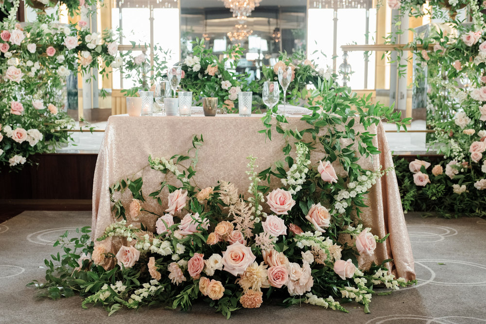 Rainbow Room Wedding, planner Ang Weddings and Events, photography Heather Waraksa, florals Poppies and Posies, rentals Party Rental Ltd