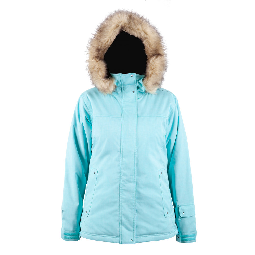 fac8105f28 Cartel Soho Womens Jacket - Blueberry Heather. 299.95. Soho Mint Heather- Front-WEB.jpg