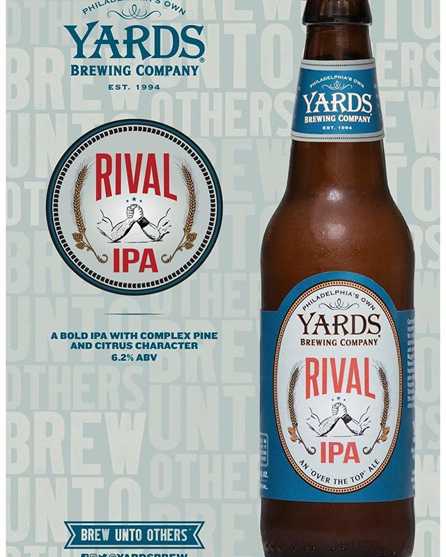 #NowAvailable from @yardsbrew #supportpabeer #craftbeer