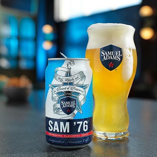 Refreshingly Different. Flavorfully Crafted. This is Sam '76. #FillYourGlass