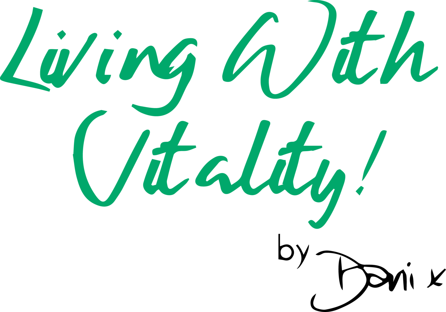 Living With Vitality! by Dani