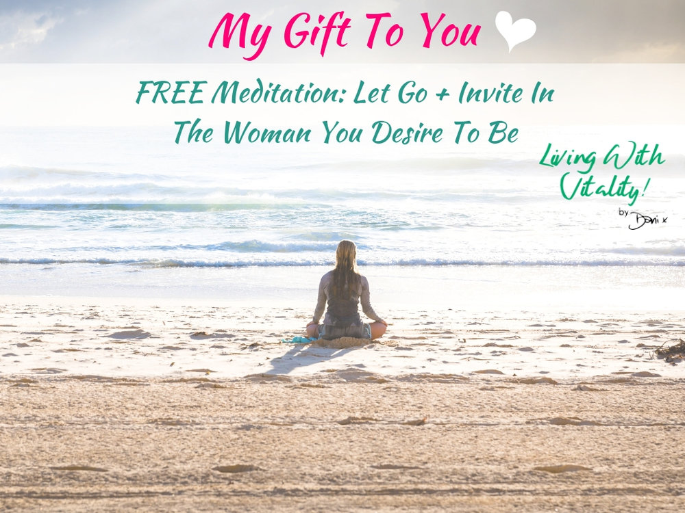 This beautiful 7 minute Meditation is designed to help you create and cement your vision to stop those sabotaging cycles that have kept you from achieving the mindset and body you so deserve