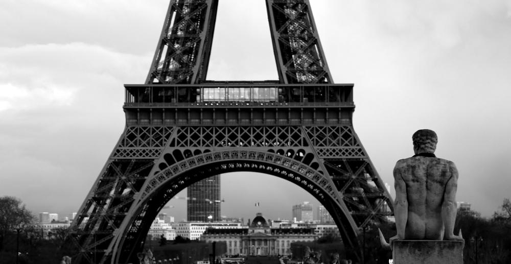 Locked on tour Eiffel