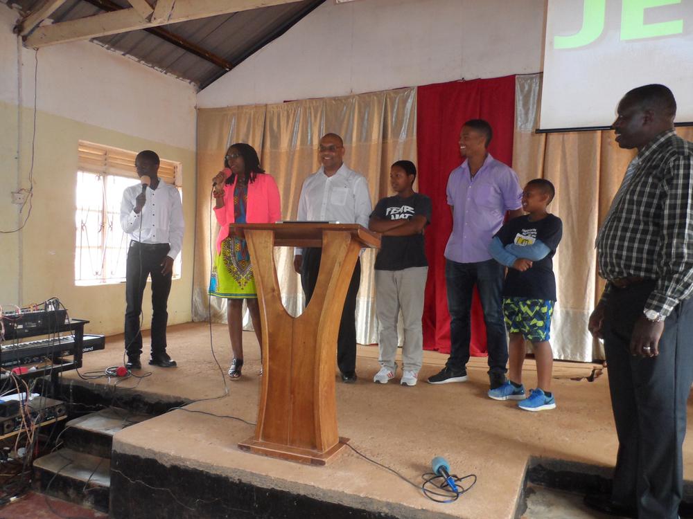 Makintos express appreciation at Bombo Pentecostal Church