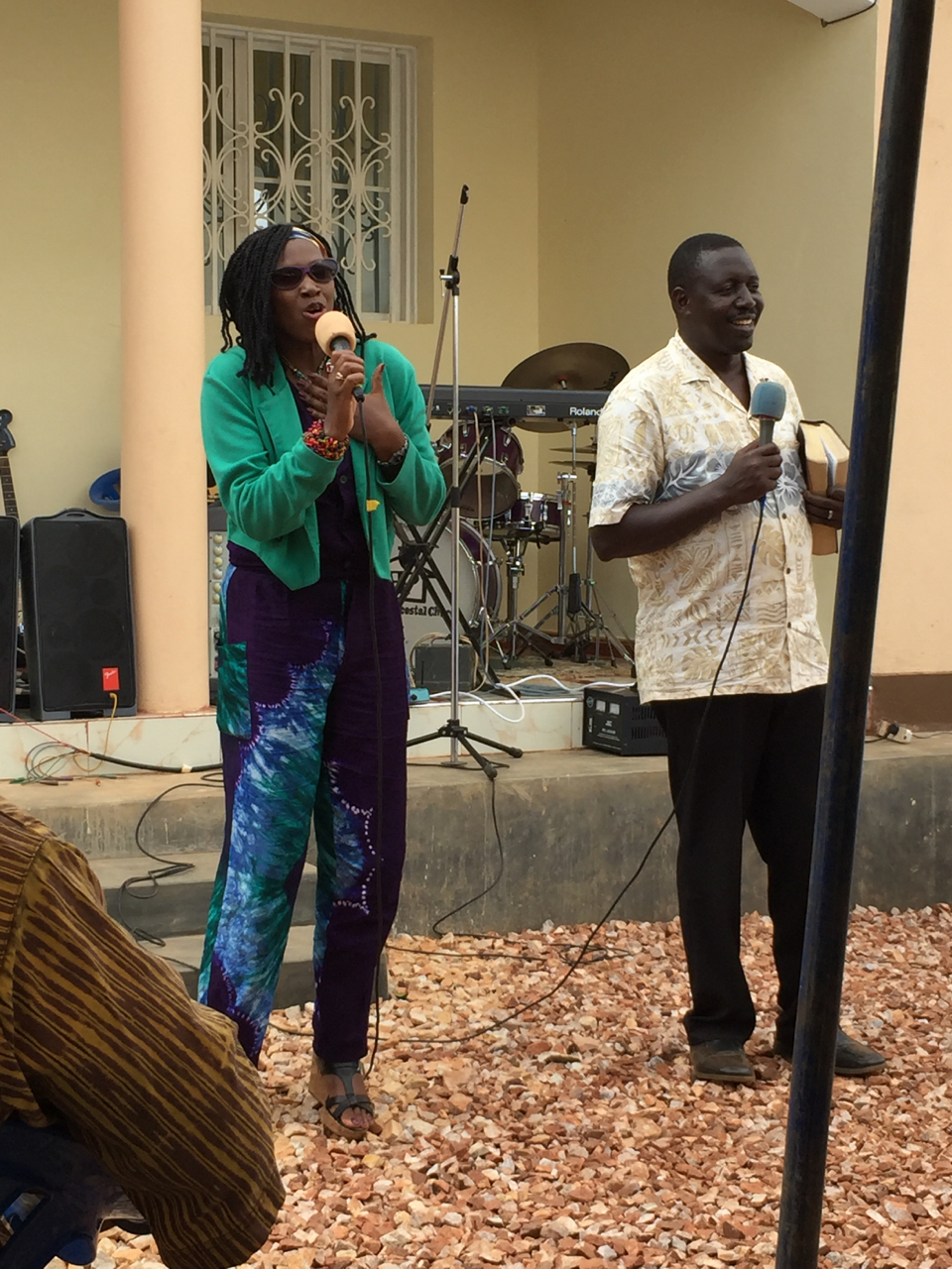 Mukarabe shares words of appreciation to God and the community