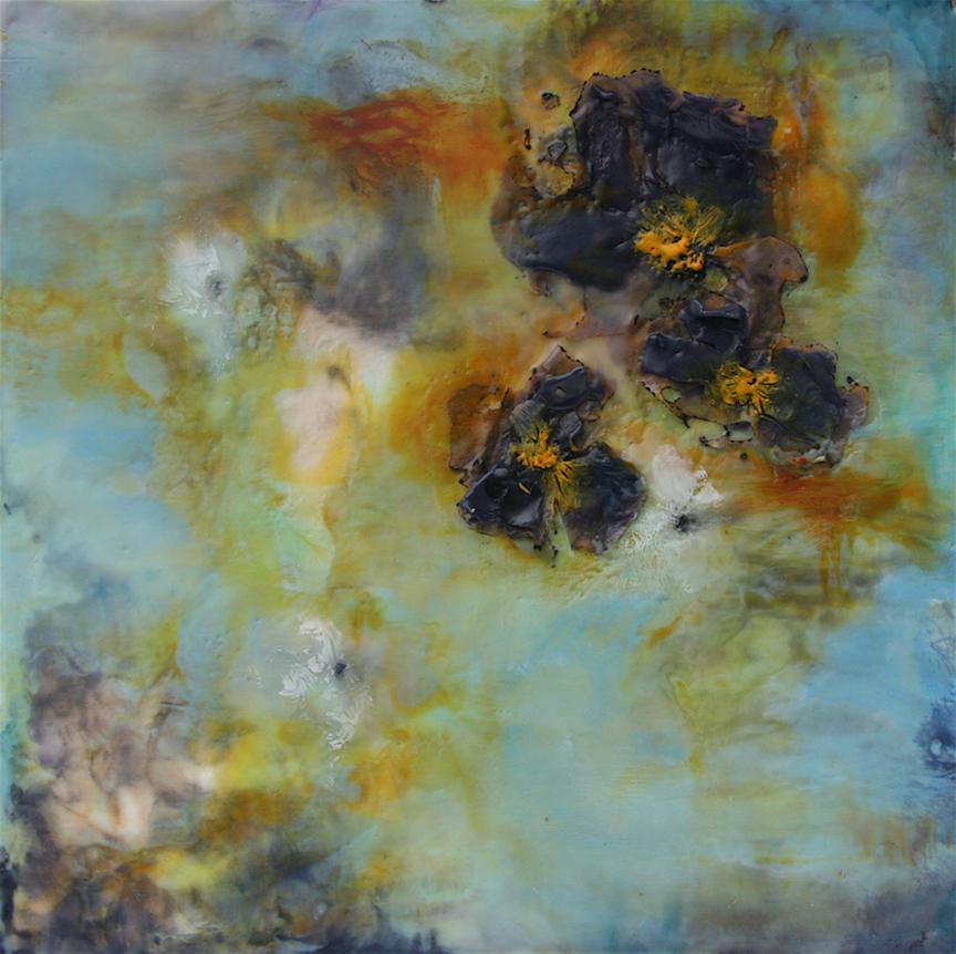 Fallen Flowers #1 12x12