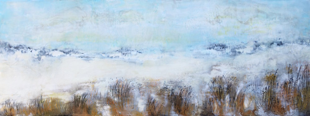 Suffolk Seashore 48 x 18""