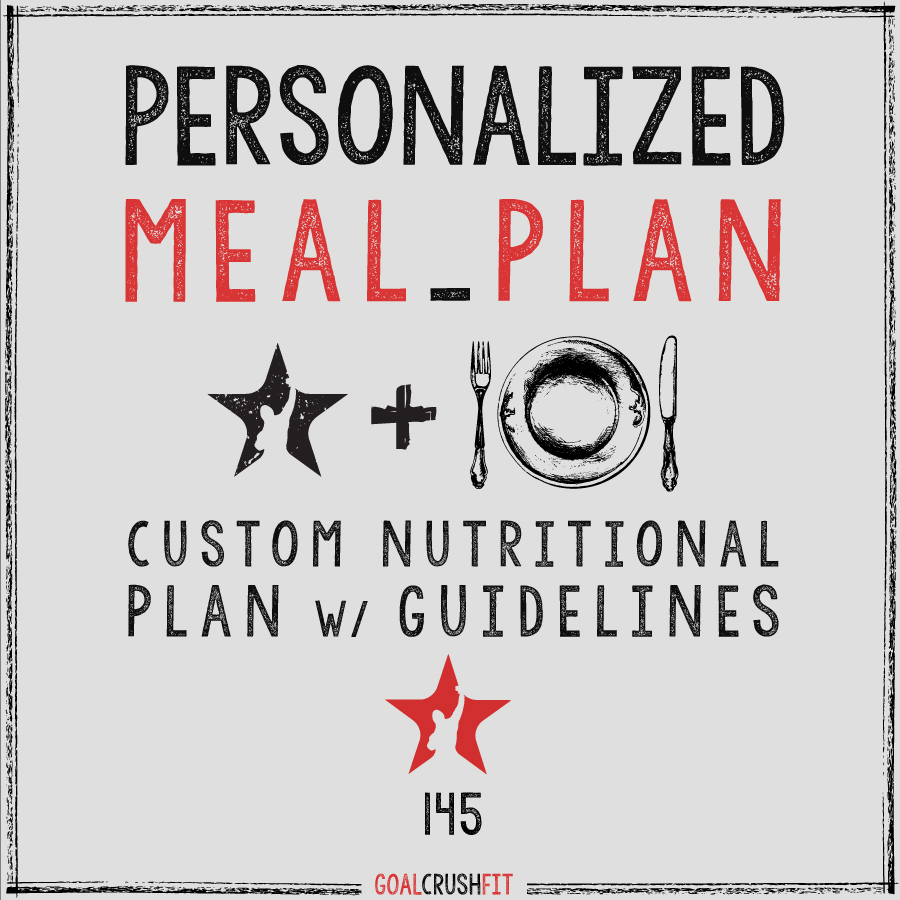 GC Personalized Meal Plan