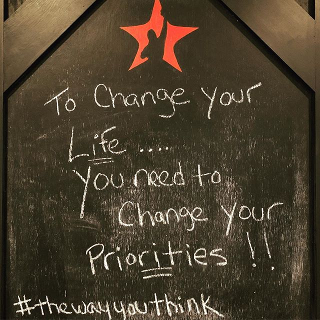 That which we put first and focus on consistently is what we achieve. If you are seeking the path of change, improvement and growth...the priority list must be adjusted. Today is the day for accelerated evolution into your new life! #thewayyouthink #goalcrush #alwaysbecrushing #mindest #priorities #evolve #newpath #leader #team