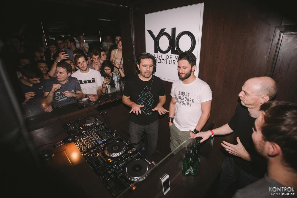 Marst & Laurent Garnier @ Yolo Club, Rouen