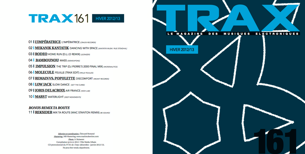Trax Magazine - FR - December 2012