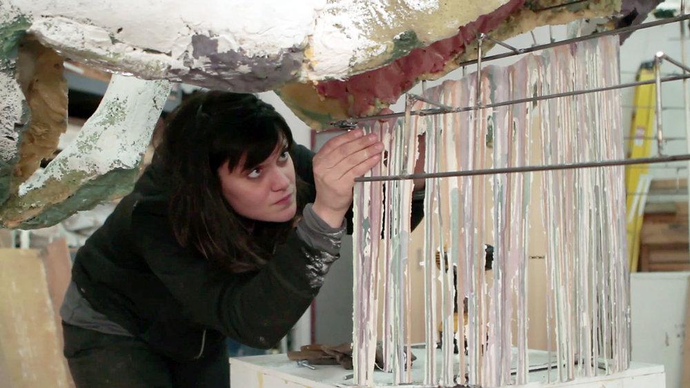 Diana Al Hadid: Artist Talk