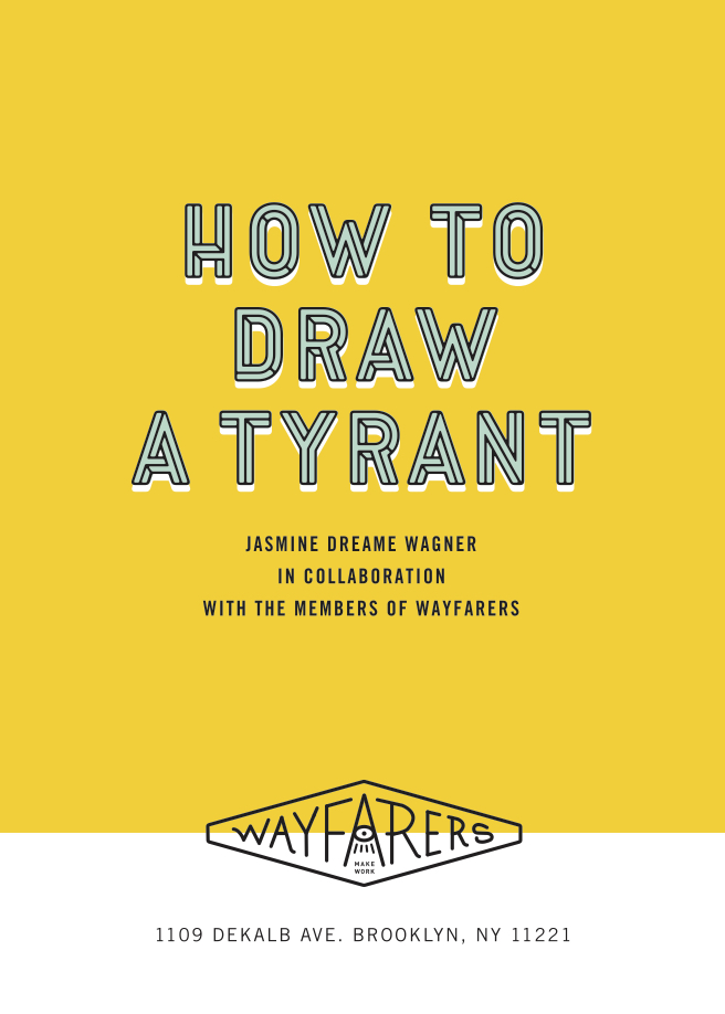 "2017. 12 ""How To Draw A Tyrant"""