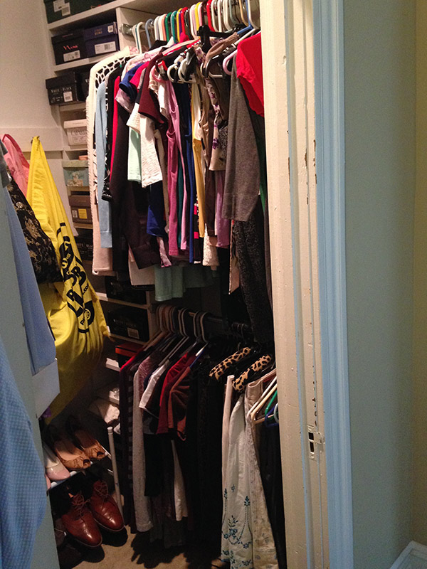 Walk-in closet - right side AFTER