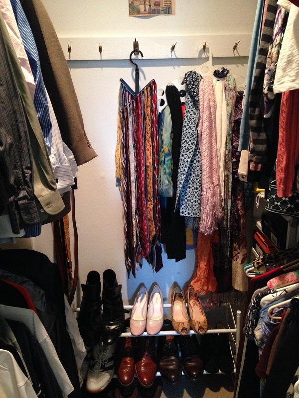Walk-in closet - center AFTER