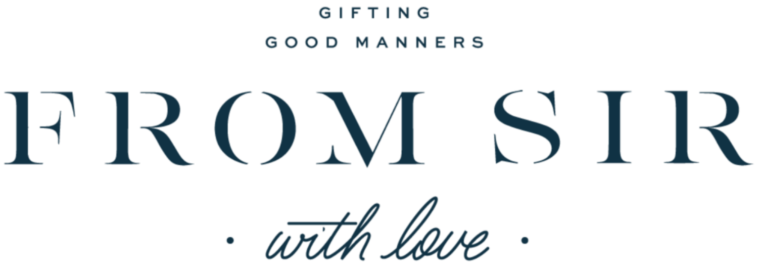 From Sir With Love | Custom Gifts + Stationery