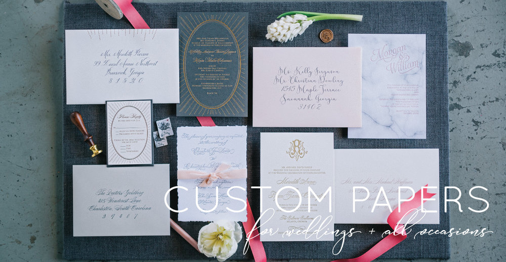 Custom Wedding Invitations