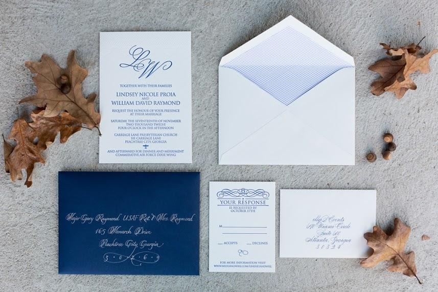 Aviation Letterpress Wedding Invitation.jpg