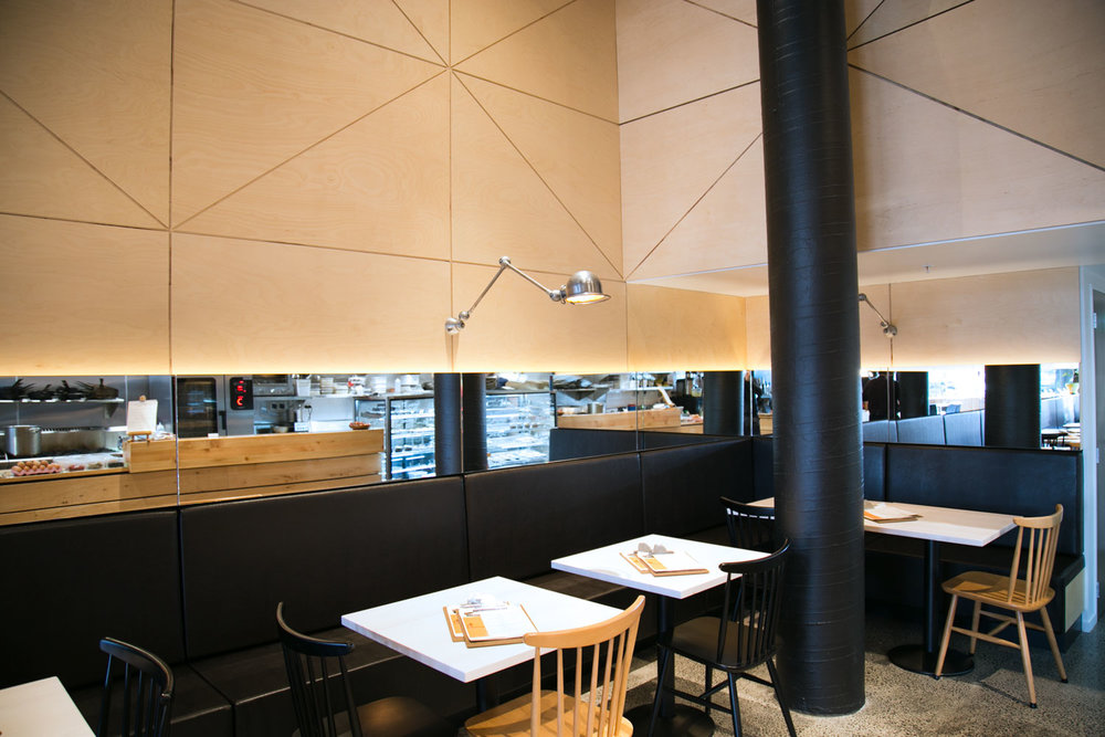 Giusto Bar Eatery  Designers: Stack Design, Lanta Interiors   Joinery: Artiture