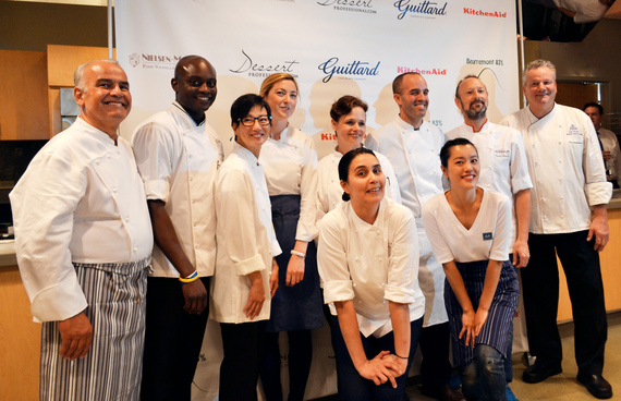 TOP TEN PASTRY CHEFS IN AMERICA