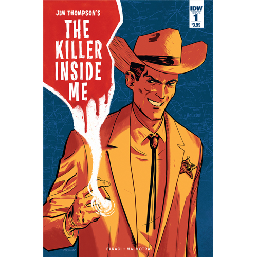 The Killer Inside Me  is a recent release with art by Vic Malhotra.