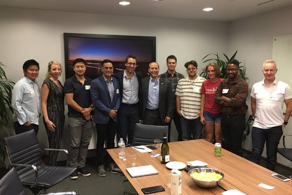 Roundtable with Jeff Bleich - September 2017- Jeff Bleich, Former Ambassador to Austrailia and Special Counsel to President Obama, joined a select group of LA tech executives to discuss the state of our industry.