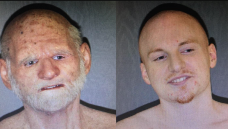Photo via US Attorney's Office. See:  Authorities: Fugitive arrested in elderly man disguise