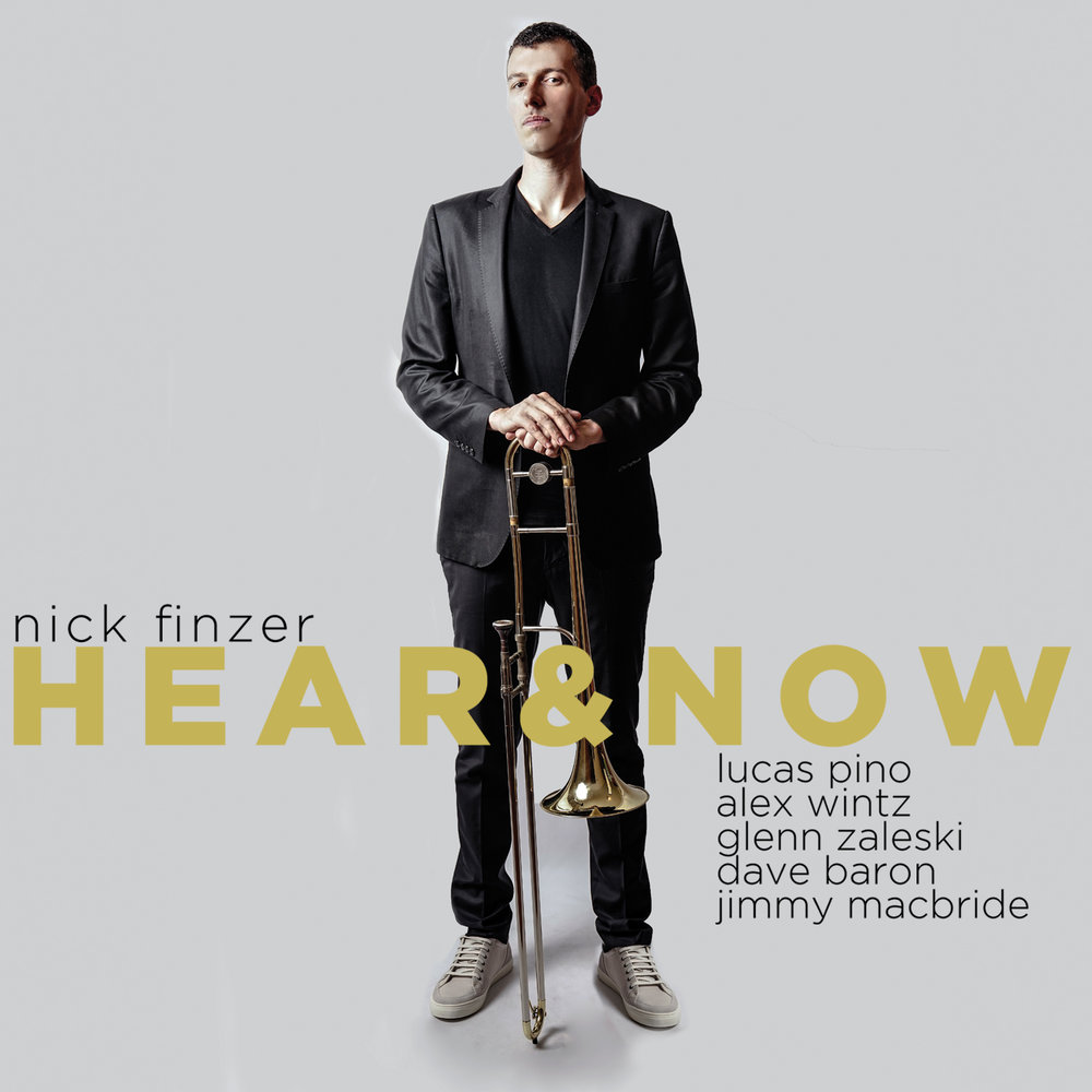 Nick Finzer Hear & Now Cover Art