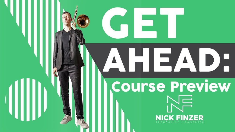 Get Ahead - A course for the developing jazz trombonist
