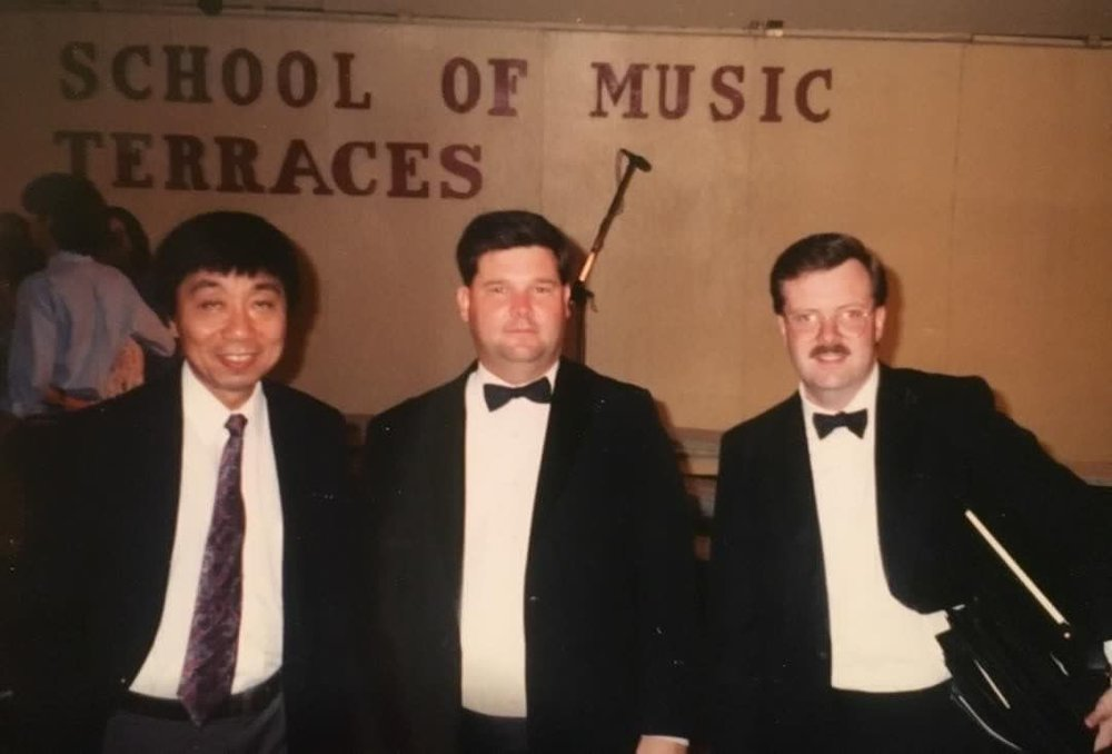 Samuel Hsu, Jonathan Lusk and Floyd Rawleigh in Muncy Terraces