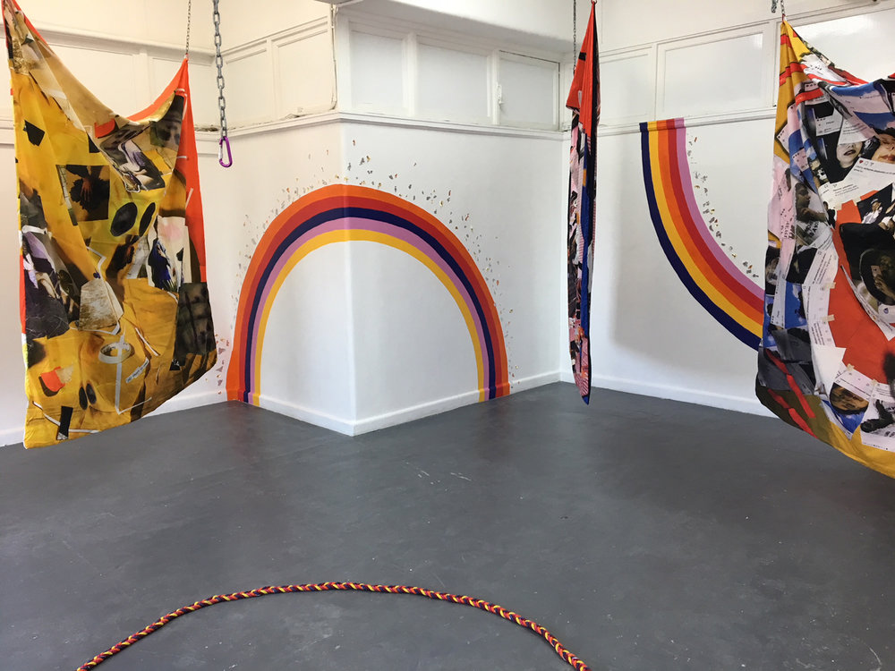 Kieran Butler,  Rainbow Bois and Magical Gurls , 2018, installation view, BLINDSIDE 2018. Courtesy the artist.