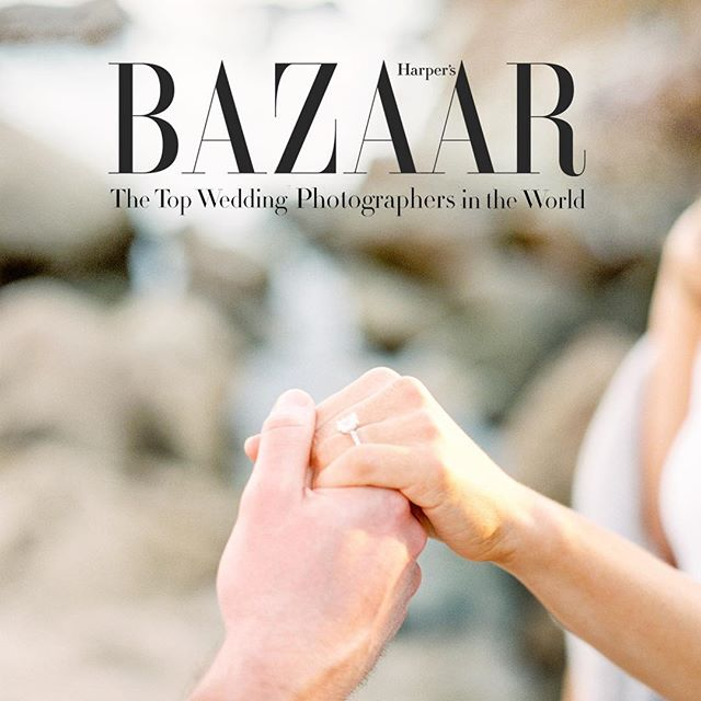 Thank you @harpersbazaarus and @carrielauren for naming us among the World's Best! It truly is an honor that we don't take for granted! And we're cheering on our fellow photographers, videographers and planners who were named as well! 👏🏼👏🏼👏🏼 So proud of you and the inspiration you bring to this industry we love!