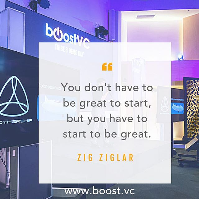 "GO START ⚡️""You don't have to be great to start, but you have to start to be great."" -- Zig Ziglar ✨#MotivationalMonday #startup #workhard #greatness #strive #achieve #inspire #goals #determination #business #entrepreneur #womenintech"