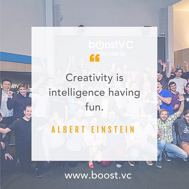 "Happy Monday! Go have fun! ✨ ""Creativity is intelligence having fun."" -- Albert Einstein #MotivationalMonday #creativity #startup #intelligence #inspire #founder #virtualreality #business #entrepreneur"