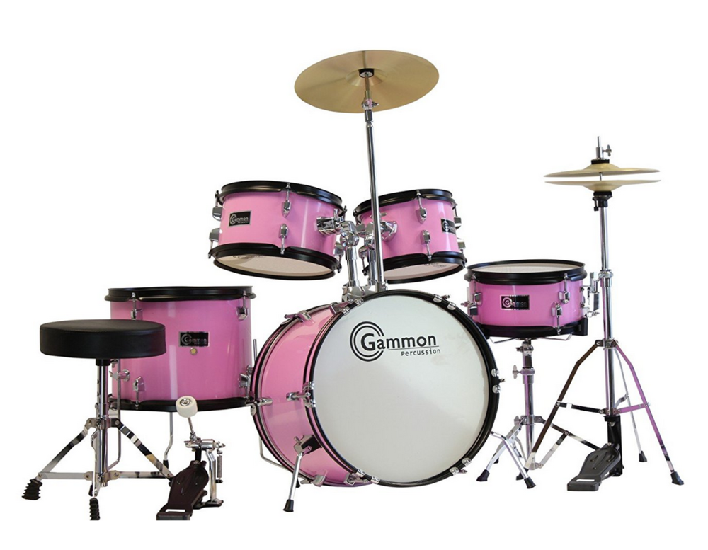 Junior Drum Set - This last item is not for the faint of heart! Square footage is at a premium here in the Bay Area, so I understand not everyone has the space for one of these babies. But if you do, I highly recommend one of these babies. Rhythm and tempo are the foundation for music, and drums are a terrific first