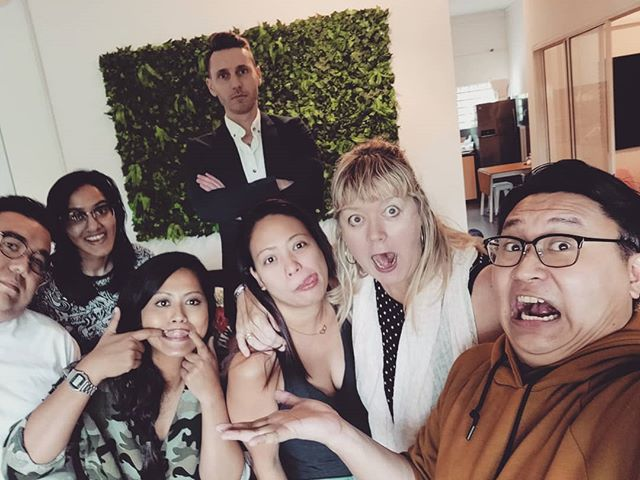 It was a fun week working with BDA in Singapore. Now I have new friends and lots of new memories. Here's to more projects and good times! #creatives #workmates #tillnexttime #peaceout