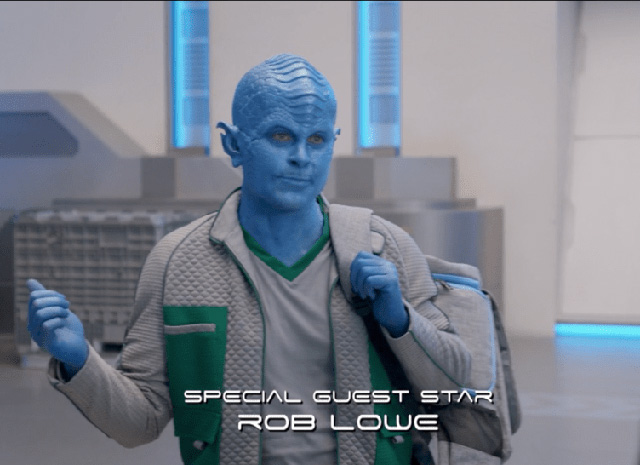 "Rob Lowe in ""The Orville"""